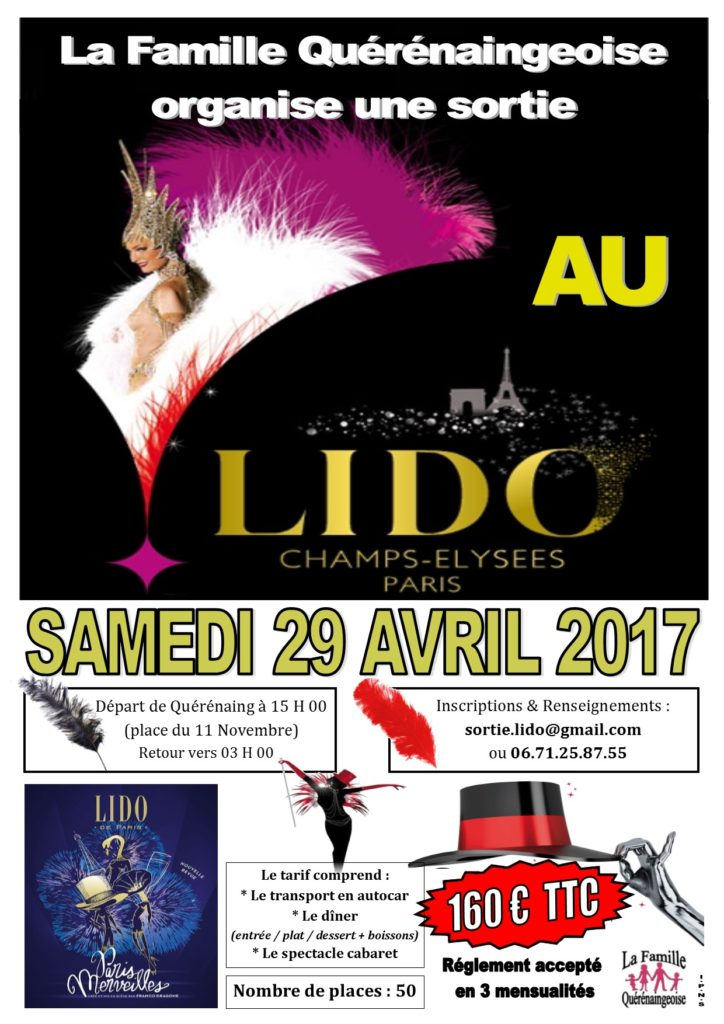 Affiche Lido - Avril 2017