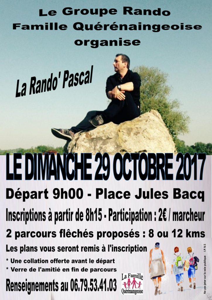 Rando Pascal - Oct 2017.