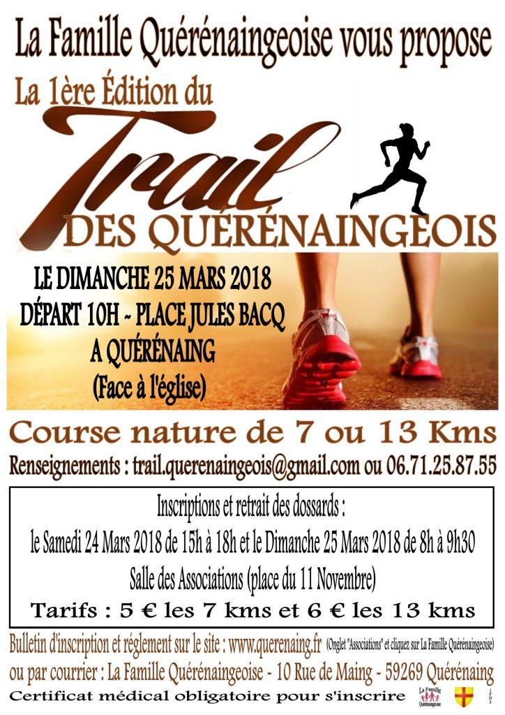 Trail des Quérénaingeois - Mars 2018