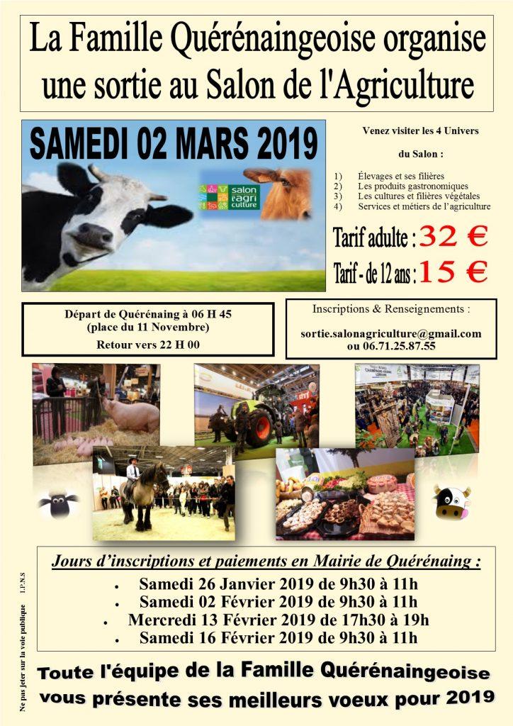 Affiche Salon de l'Agriculture - Mars 2019