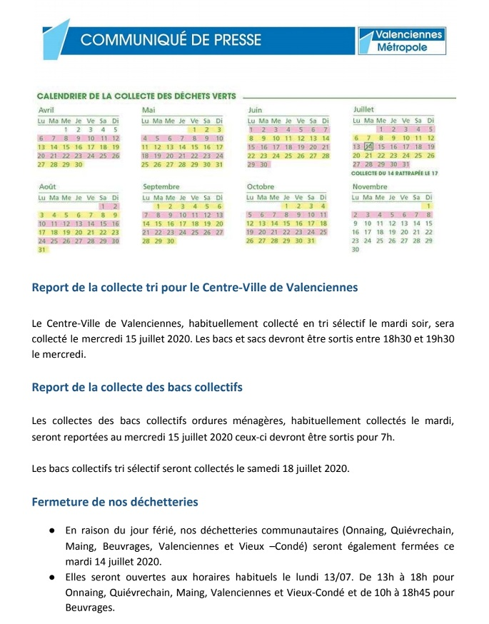 Document N°2 pour la collecte des déchets