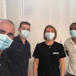 Photo pour la seconde campagne de vaccination à Quérénaing